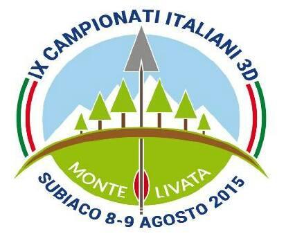 AGOSTO 8-9, 2015 - IX Campionati Italiani Tiro con l'Arco- PAG.1