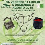 LUGLIO dal 31 a 2 AGOSTO - Collepardostock , Ariccia .pag.2